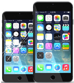 Cracked Screen Repair Iphone  Near Me